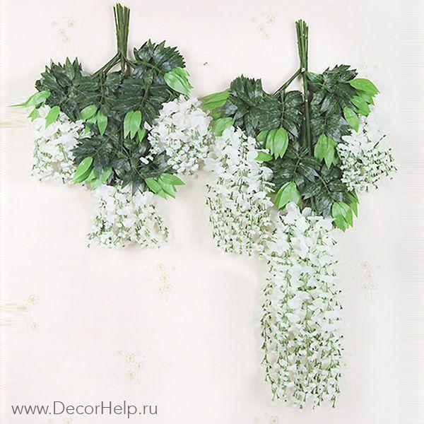 Купить искусственные цветы для свадебного декора