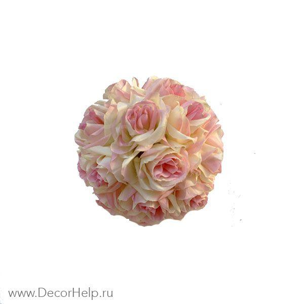 Шар из роз (10 шт)