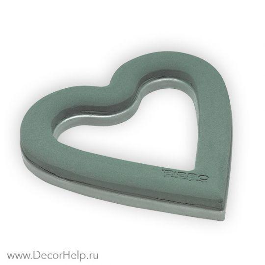флористическая губка (оазис) сердце
