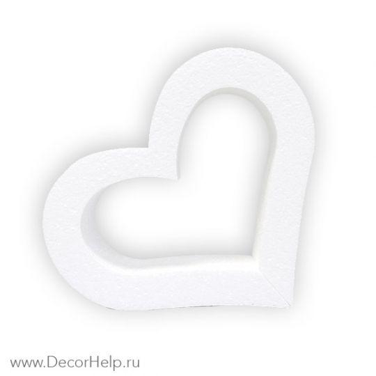 заготовка из пенопласта сердце